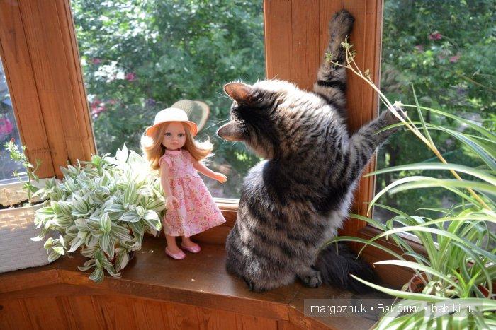 Дачи нет - гуляем на балконе! / куклы паола рейна, paola rei.