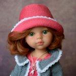 Комплект «Клубника со сливками» на кукол Paola Reina, Minouche