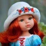 Комплект «Маков цвет» на кукол Paola Reina, Minouche