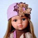 Комплект-конструктор «Пепельная роза» на кукол Paola Reina, Minouche