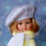 Комплект «Зимний цыплёнок» на кукол Paola Reina, Minouche