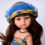 Комплект «Незнакомка» на кукол Paola Reina, Minouche