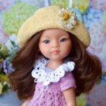 Комплект «Маленькая гортензия» на кукол Paola Reina, Minouche