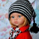 Комплект «Маленькая модница» на кукол Paola Reina, Minouche
