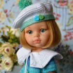 Комплект «Маленькая морячка» на кукол Paola Reina, Minouche
