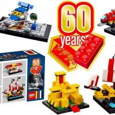 Набор Lego 40290 к 60-летию кубика. Эксклюзив