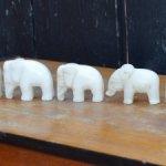 """Легендарные статуэтки"""" 7 слоников """".1940 - 1950 гг .Артель"""