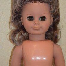 Кукла немецкая , ГДР .Винтажная .Огромная , 65 см .С номером .1970 гг