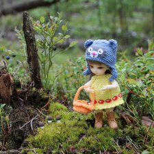 Миу собирает грибочки (Hujoo Baby)