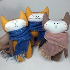 Новые трикотажные котейки со вкусными именами