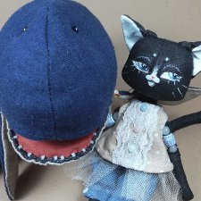 Кошка Фиби и Кит Арчи