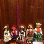 Лот из 5 винтажных куколок в национальных нарядах