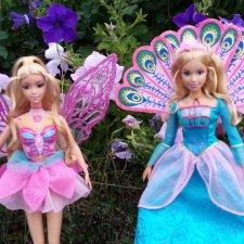 Мои куколки Элина и Розелла