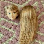 Голова и парик от куклы Creatable World