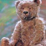 Редкая выкройка немецкого антикварного медведя Bing начала XX века + подарок