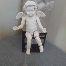 Шарнирный малыш  ангелочек -купидончик , рост 9 см.