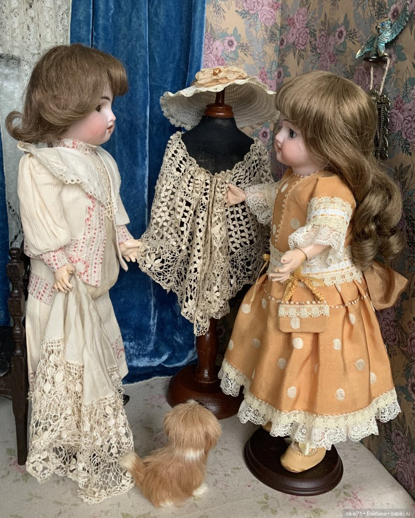 Обои платье, Кукла, барышня. Разное foto 13
