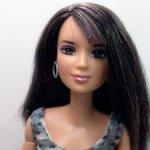 Барби Кайла/Лея Girls Aloud на теле йоги