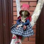 Авторская кукла Полли.