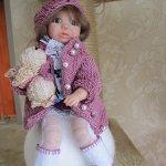 Варенька - авторская куколка