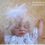 Мой ангелочек Евгеша! Авторская кукла