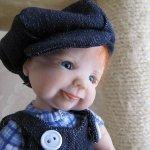 Моя авторская кукла Антошка