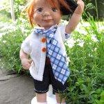 Нильс. Авторская кукла Чеховой Юлии