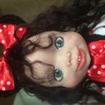 Забияка Минни Маус. Моя авторская кукла