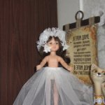 Подъюбники из сетки с кружевом на любую куклу