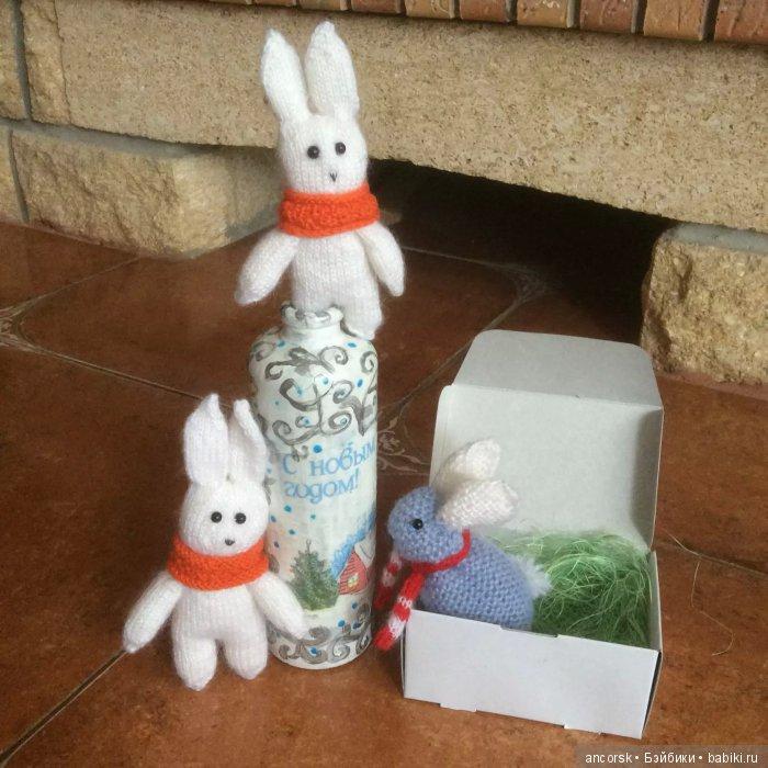 Зайчата перед Рождеством