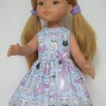 Кошечки-2. Летнее платье для Паолок