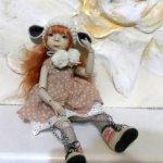Первая авторская шарнирная кукла