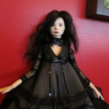 Сборная солянка: куклы и заяц. Шарнирная авторская кукла