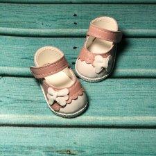 Обувь для паолочек из натуральной итальянской кожи и замши