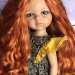 Красавица Кристина с шикарными локонами ООАК