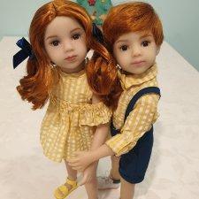 Joy и Ash Maru mini pal