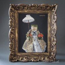 """Картина куклы """"Лягушка Алионора"""". Авторские куклы Осминко Натальи"""