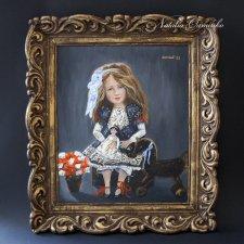 "Картина куклы ""Софи"". Авторские куклы Натальи Осминко"