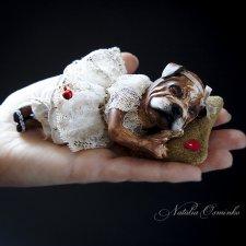 Видео малышки Лу. Авторские куклы Натальи Осминко