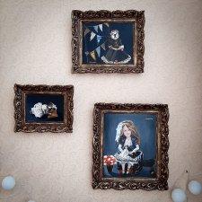 Картины маслом моих авторских кукол