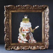 """Картина куклы """"Лягушонок Жак"""". Авторские куклы Натальи Осминко"""
