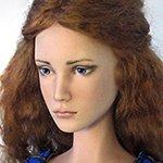 Авторские фарфоровые куклы, Анна и Мария