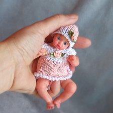 Миниатюрные авторские куклы, разные