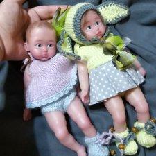 Маленькие куклы из силикона - целая галерея