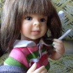 Коллекционная куколка очаровашка от Laura Lee Wambah