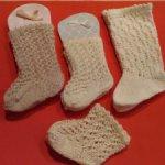 Гольфы и носки для антикварной куклы