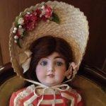 Боннет для антикварный куклы. Сегодня отдам за 4500р