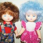 Куколка Кира (девочка + мальчик) Мальвина СССР Северянки