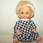 Кукла куколка ГДР Бигги пухлик блондинка