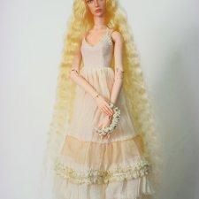 Амелия - авторская шарнирная кукла ооак, полиуретан